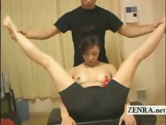 subtitled-female-japanese-kickboxer-sex-toy-foreplay