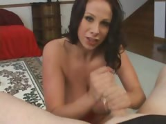 busty-chick-handjob-and-swallow