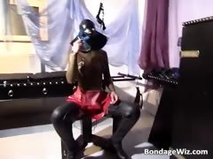 Hot Bdsm Sex Scene With Bitch In Latex Part1