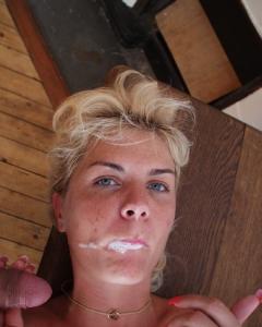My web whore Coco - Blonde slut