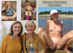Blonde Texas granny Marsha leaked hardcore pics