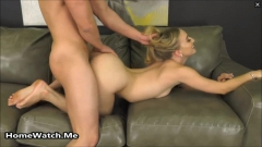 Horny Blonde Gets A Thick Load For Being Naughty - N
