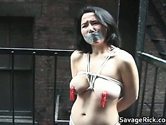 Tied Real Asian Beauty 3 Melody Hard Part4