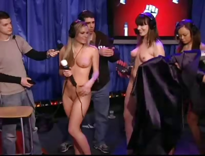 Stern upskirt Howard show