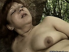 Horny Mature Woman Goes Crazy Sucking Part2