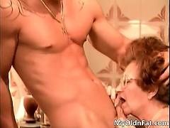 Horny Redhead Milf Whore Sucking Cock Part4