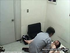 Office Girl Sexual Voyeur Harassment