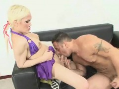 Shemale And Her Man Suck On Each Others Hard Cocks