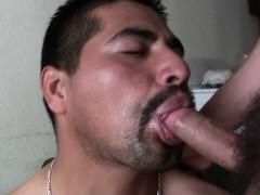 Straight latino bg cock sucked