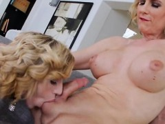 Busty Tranny And Tight Babe Anal 3some With Horny Guy