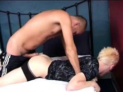 Tender Gay Dad Seduces A Blond Boy
