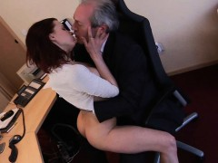 young-secretary-and-older-boss-fucking-in-the-office