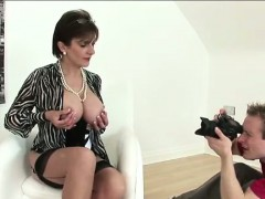 British Lady Flashes Tits For Photog