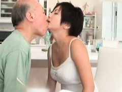 Dark Haired Asian Milf Makes Out Part2