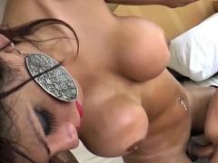 Tranny Karol Ferraz Rams Her Lovers Ass