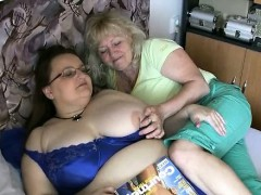 Two Old Woman Plays Each Other Rubbing Part2