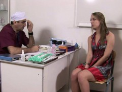 Horny Old Gynecologist And His Speculum