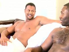 Gaysex ebony toying his ass hole