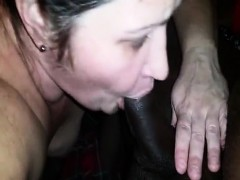 Horny Mom Cant Stop Sucking Her Favorite Big Black Schlong