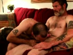 Dirty Southern Rednecks In Cock Feast Giving Blowjob