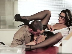 Alexa Tomas Fucked By Her Officemate