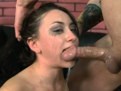 Mandy Muse Savagely Facefucked By Huge Cock
