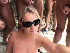 bukkake-on-the-beach-with-a-naughty-milf