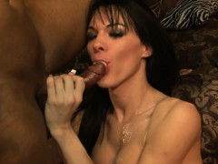 Tgirl Interracial Swallow