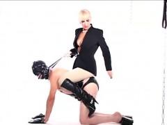 Alexandra Gets Blindfolded