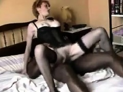 Mature White Woman Loves A Big Black Cock