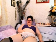naughty-granny-teases-her-hairy-pussy