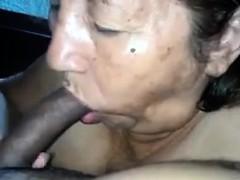 latin-grandma-sucks-cock-point-of-view
