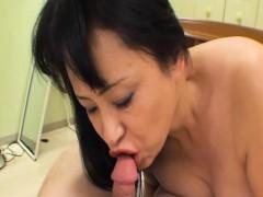 Sachiko Matsushita Old Jav Momma Getting A Messy Facial