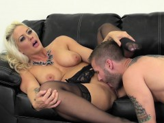Hot Blonde Holly Live