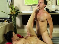 Skinny Brunette Indua Summer Gets Her Pussy Fucked By Robby