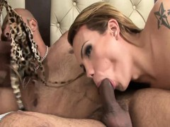 Patricia Bismark And Evelin Rangel Threesome Interracial