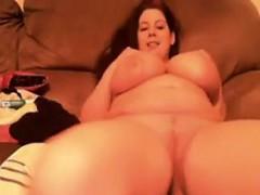 Large And Busty Cam Slut