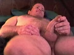 Amateur Mature Man Kevin Jacks Off And Cums