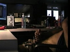 Amateur Bloke Wanking Off Watching Porn