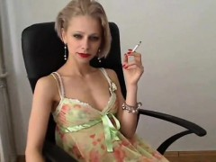 mature-blonde-whore-smoking