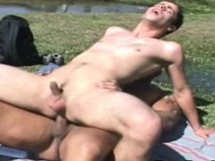 Hot Bareback Scene With Two Latin Gay Dude
