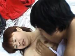 Miyuki Hashida Sucks Shlong In The Woods