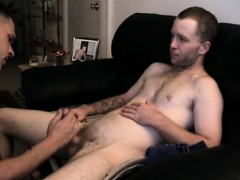 Straight Boy Johnny Shares Cock