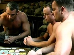 Guys Play Striptease Monopoly