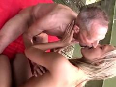 Lazy Blowjob And Husband Films Wife With Black Naked On A Br