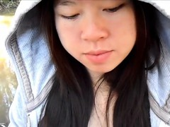 Asian gf bj