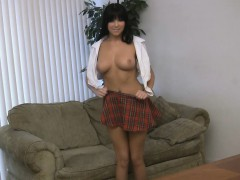 big-melons-and-with-a-short-skirt