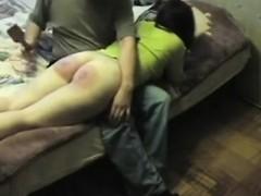 Hard Spanking For Melanie For Bad Behavior