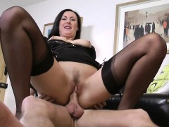 jizz-spray-stockings-brit