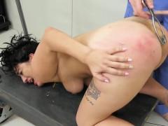 Slutty Sweetie Is Taken In Ass Hole Assylum For Harsh Treatm